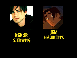 Jim Hawkins - Rider Strong by FalseDisposition