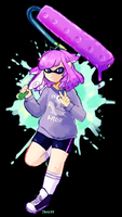 squiddy by DragonsPurr
