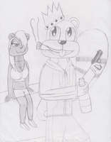 CBFD - Conker and Berri by Im-Albert-Wesker
