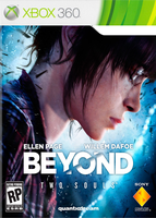 Xbox 360 Beyond Two Souls Test Cover by deangagaTR