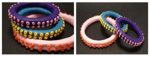 Tentacle bracelets -COMM- by The-Erin-show