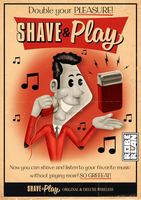 Shave and Play ad by roberlan