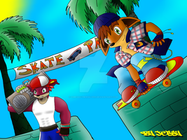 SkatePark by omegacybersilver