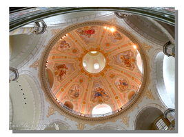 Domed Ceiling of the Frauenkirche by WillFactorMedia