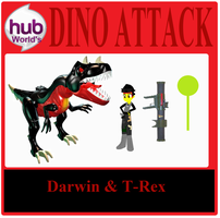 Darwin Action Figure (Dino Attack) by Hubfanlover678