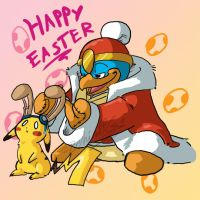 Hey, It's my Easter Picture by TamarinFrog