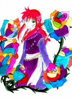 Happy Kurama Colors by sweetsnow73
