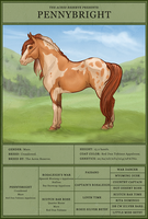 [SOLD] Pennybright - Reference by strideroo