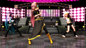 Luka Luka Night Fever by JuliaDS