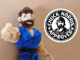 Chuck Norris Approved! by fuzzyfigureguy