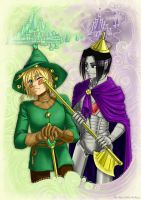 Emerald And Violet by Ryouhiko-Ankuu