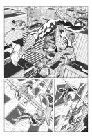 Spider-man Sample Page 01 by billydallaspatton