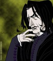 Prof. Snape by supercluster-hong