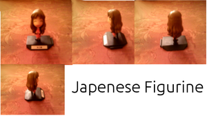 Japenese Girl Figurine by WhizzPop