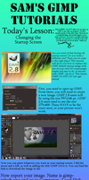 Sam's GIMP Tutorials: Changing the Startup Screen by Gryphonwolf6274