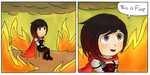 This is fine rwby by colleenekat