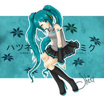 Hatsune Miku by Im-On-Cloud9