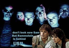 rammstein Frodo and Sam by rammstein-freak
