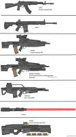 Military Weapon Variants 58 by Marksman104