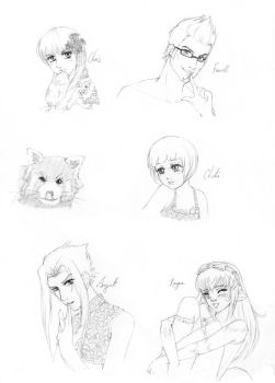 :: sketch gifts page 3 :: by Lady-Liara