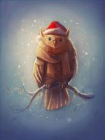 Owly Xmas by Splidsecond