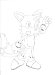 My Tails Drawing by Tails-Fanatic