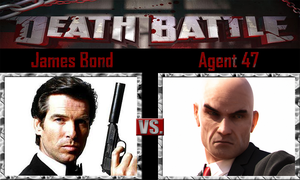 James Bond vs Agent 47 by SonicPal