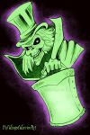 Hatbox Ghost by Winged-warrior