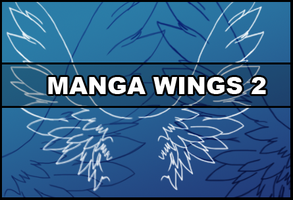 Manga wings 2 by Faeth-design