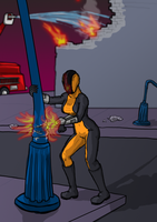 Burnt Matchstick - Cleaning Up by Agent-Foo