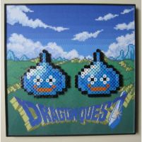 Perler Slimes from Dragon Quest by Dlugo1975