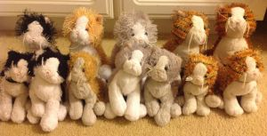 Most of my ___ and white cat webkinz by silverXdragon-CotC