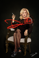 American Horror Story Jessica Lange poster print by Cordy5by5
