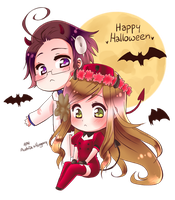 APH Halloween by Ashe-Star