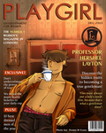 PLAYGIRL- Hershel Layton by tavington