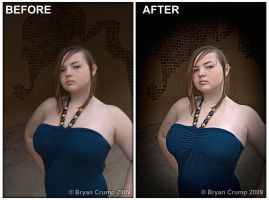 Laramie Before and After by thebryancrump