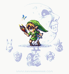 LOZ: Majora's Mask by kawaiihannah