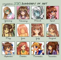 Art Summary 2010 by c-r-y-s