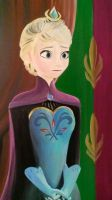 Queen Elsa of Arendale by DNLINK