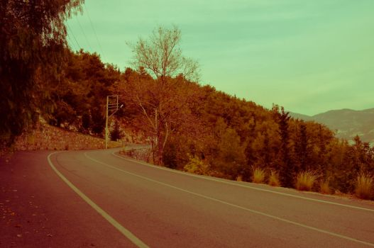 Road in Alanya by NoPlan210