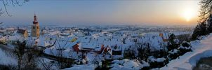 Ptuj in winter by BBilly