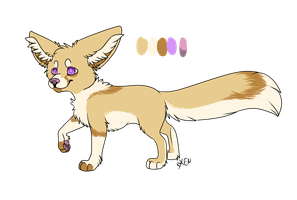 Offer To Adopt: Fennec - CLOSED by Xenophilith