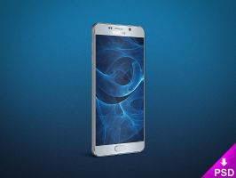 Samsung Galaxy Note 5 Angle Mockup by thislooksgreat
