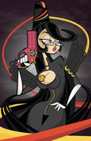 Bayonetta Commission by kungfumonkey