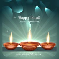Indian Diwali Festival Free Vector by vecree