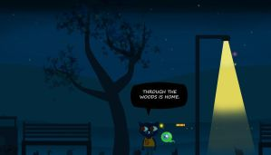 night in the woods whit Jacksepticeye by zelphie87