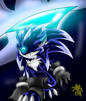 Xzevious the Half Blooded by Fly-Sky-High