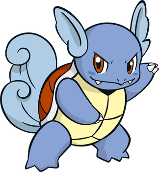 Wartortle by MonsterMMORPG