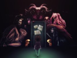Closet of Legends by ZombieMilk