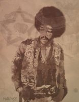 Hendrix by maumse